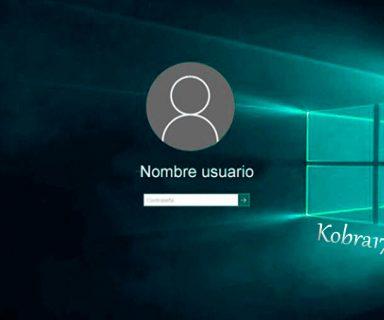 Quitar la Contraseña de Inicio de Windows 10