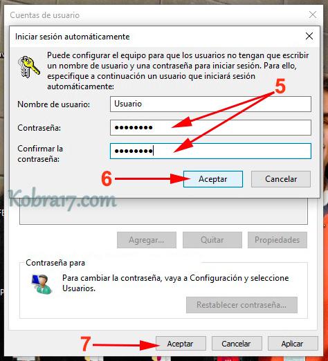 Quitar la Contraseña de Inicio de Windows 10 - 3